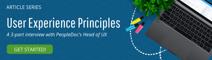 user experience principles in hr peopledoc article series