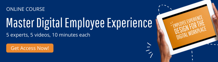 access free digital employee experience online course