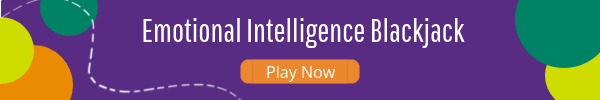 Button to play emotional intelligence blackjack game