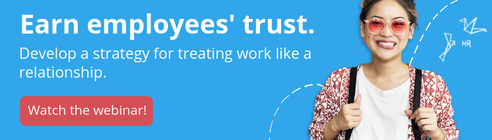 work as a relationship employee experience strategy webinar