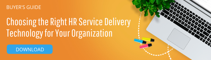 Button to download the buyer's guide to choosing the right hr service delivery technology