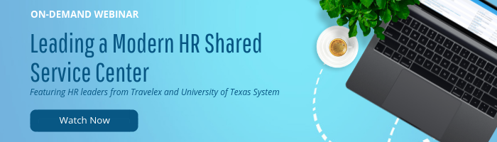 watch the webinar leading a modern hr shared service center