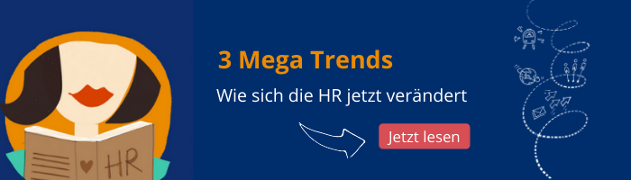 Drei HR Mega Trends