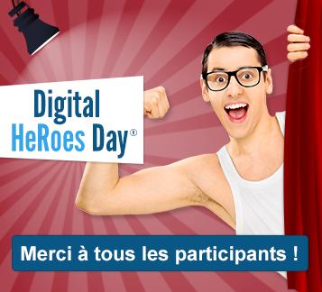 Digital HeRoes Day 2016 - Merci à tous les participants !