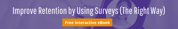 button to download eBook improve retention by using employee surveys the right way