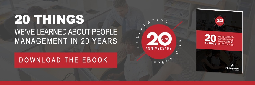 Download eBook: 20 Things WE've Learned about People Management in 20 years