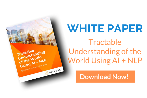 Tractable Understanding of the World Using AI + NLP
