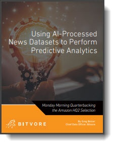 Check Out Our Whitepaper: Using AI-Processed News Datasets to Perform Predictive Analytics
