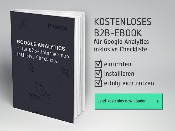 Kostenloses B2B-Ebook Google Analytics Checkliste