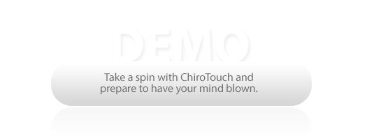 Demo and take a spin with ChiroTouch and SmartCloud!
