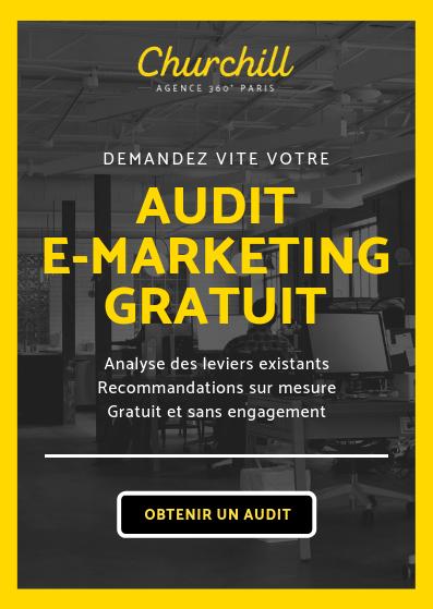 Obtenez votre audit e-marketing gratuit