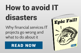 Epic fail - How to avoid financial services IT disasters