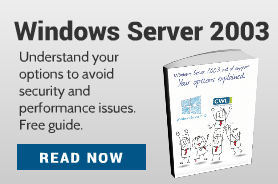 Download our free whitepaper: Windows Server 2003 end of support - your options explained