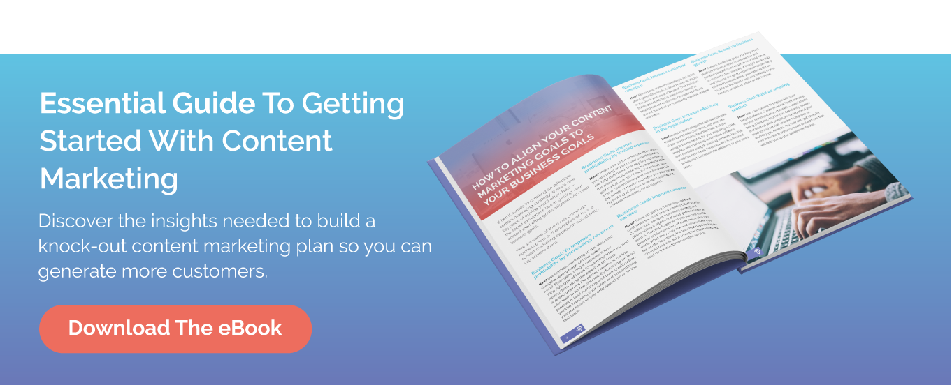 Essential Guide To Getting Started With Content Marketing CTA In-line