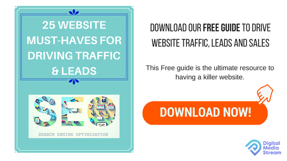 25 WEBSITE MUST-HAVES FOR DRIVING TRAFFIC & LEADS