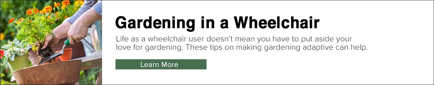 Tips for Gardening in a Wheelchair