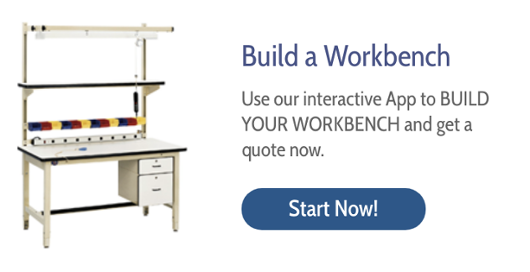 model hd ergonomic heavy duty workbench