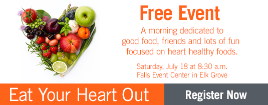 Eat Your Heart Out, Free Event, Healthier heart living