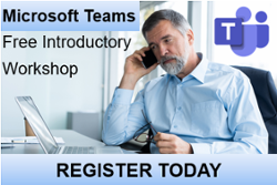 Register for a Free Microsoft Teams Introductory Workshop