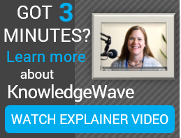 Watch video explaining the KnowledgeWave Learning Site