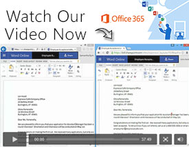 Watch our Office 365 Video