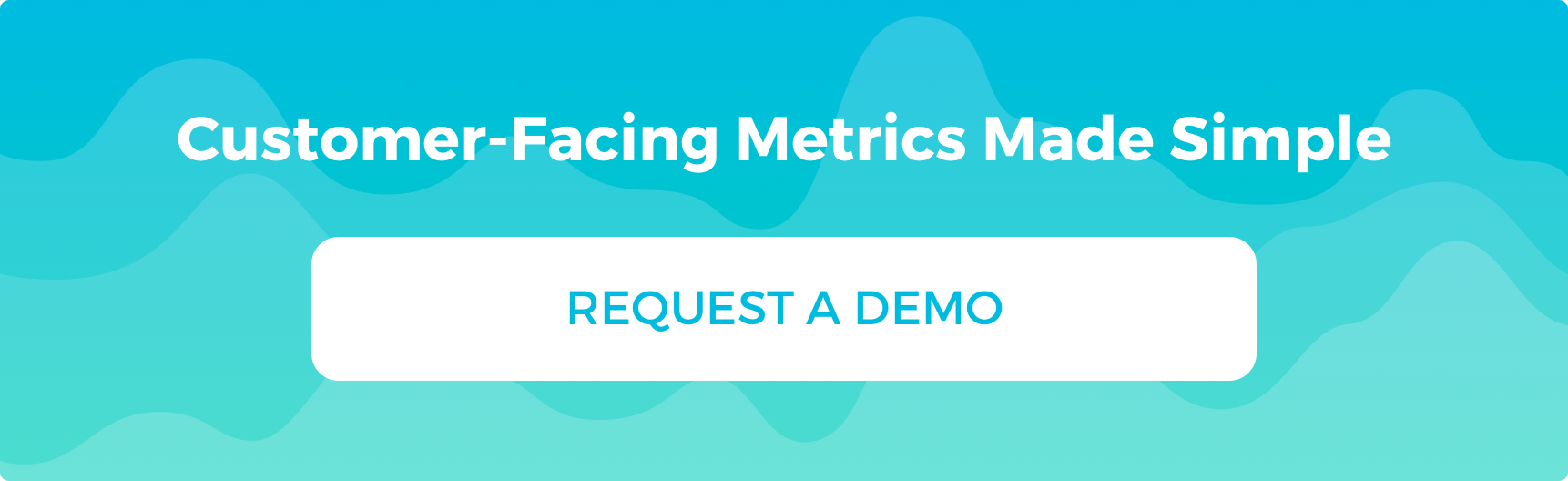Customer-Facing Metrics Made Simple Request a Demo