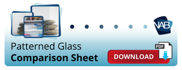 Pattern Glass Comparison Sheet