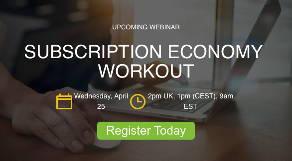Subscription Economy Workout Webinar