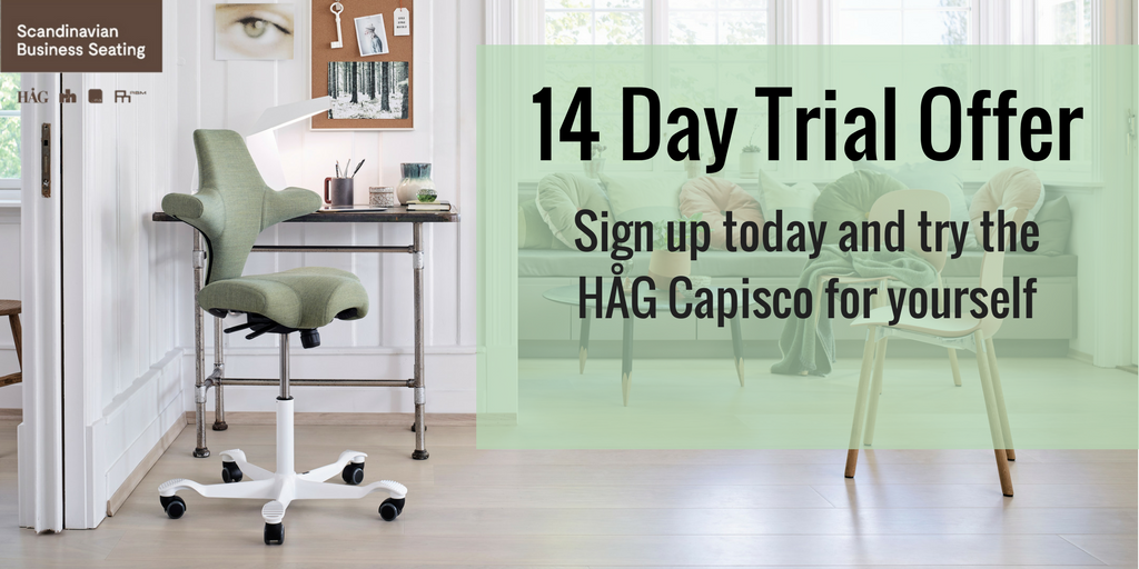 Get your free 30 day HÅG Capisco trial today
