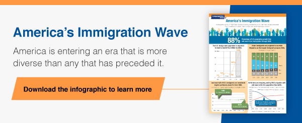 America's Immigration Wave Infographic