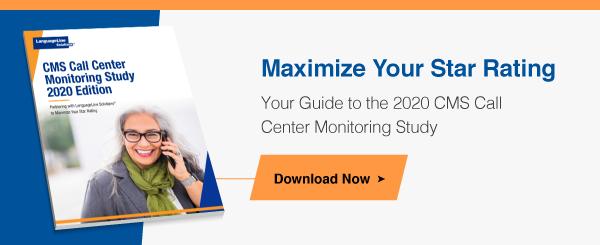 CMS Call Center Monitoring Study 2020