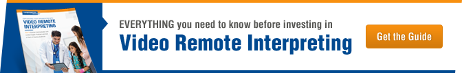 Everything you need to know about video remote interpreting