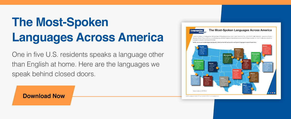 Infographic: The Most-Spoken Languages Across America