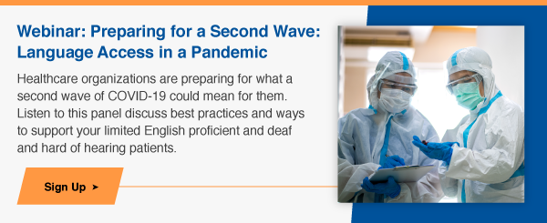 Preparing for a Second Wave: Language Access in a Pandemic