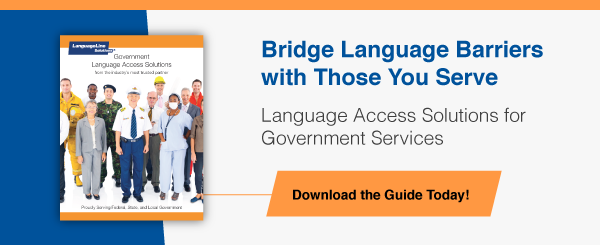 Language Access Solutions for Government Services