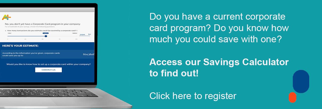 Corporate Card Savings Calculator
