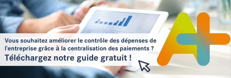 Téléchargez notre guide gratuit pour améliorer le contrôle des dépenses de l'entreprise via la centralisation des paiements !
