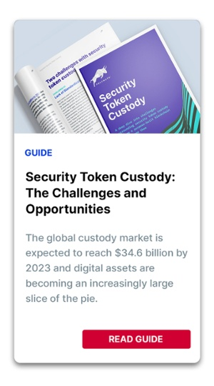 Security Token Custody: The Challenges and Opportunities CTA