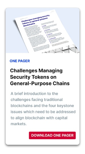 Challenges Managing Security Tokens CTA