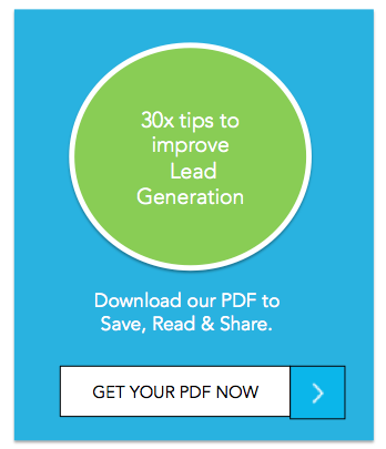 30 tips on how to improve lead generation