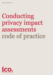 Conducting privacy impact assessments GDPR
