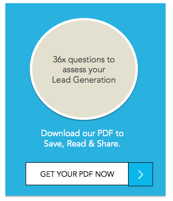 36 questions on assessing your lead generation