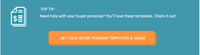 BUYER PERSONAS TEMPLATE FOR INBOUND MARKETING