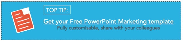 free powerpoint template for inbound marketing