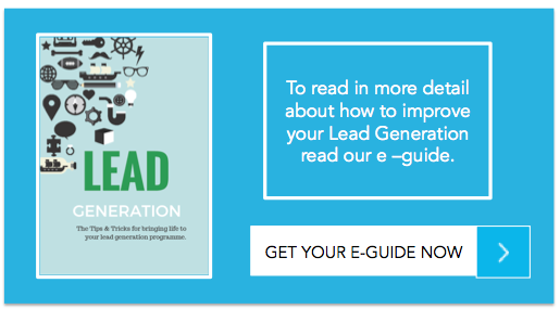 lead generation e-guide from kennedy andersson and inbound marketing