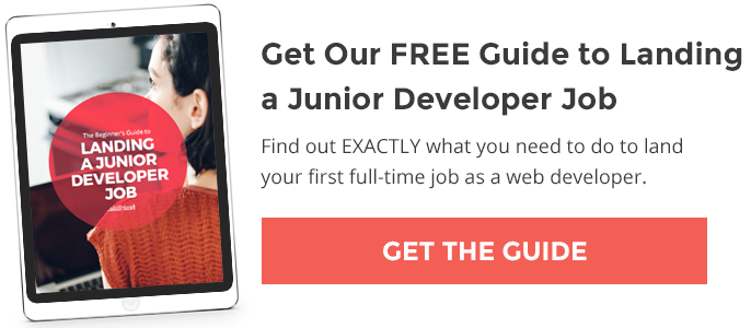 Get Our FREE Beginners Guide to Landing a Junior Developer Job