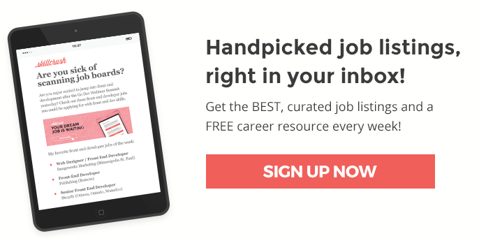 Get the best tech job listings delivered to your inbox