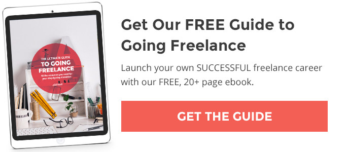 Get our FREE Guide to Going Freelance