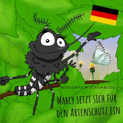 Tigermücke Marcy Welttag des Artenschutzes
