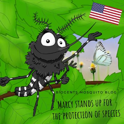 Tigermosquito Marcy World Wildlife Day